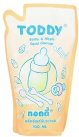 Toddy Bottle & Nipple Liquid Cleanser - 700ml (Refill)(Multicolor)