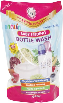 Farlin Natural Baby Bottle Wash 700 ml(White)