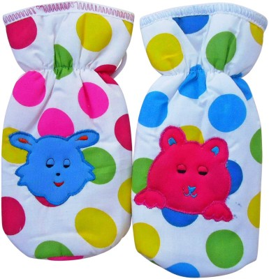 Littly Polka Dot Bottle Covers, Pack of 2