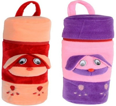 CHHOTE JANAB BABY FANCY BOTTLE COVER(SET OF 2)(Multicolor)