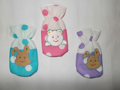 Chinmay Kids Fancy Bottle Cover(Multicolous, Pink, Red, Green, Violet, Peach)