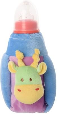 Baby Bucket Feeding Bottle Covers Purple & Blue(Blue)