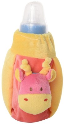 Baby Bucket Feeding Bottle Covers Yellow & Pink