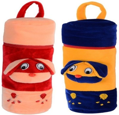 CHHOTE JANAB BABY FANCY BOTTLE COVER(SET OF 2)