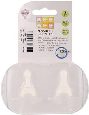 Mee Mee Advanced Feeder Silicon Teat MM-1856S Medium Flow Nipple