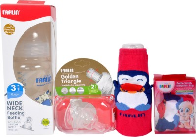 Farlin Feeding Bottle Set Medium Flow Nipple