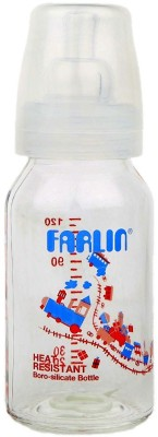 Farlin Heat Resifarlin Baby Stant Glass Bottle 120 Cc New Born Flow Nipple