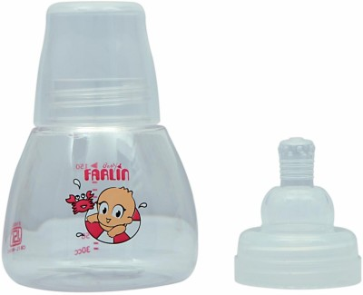 Farlin Firm Base Feeding Bottle Small 150 Cc New Born Flow Nipple