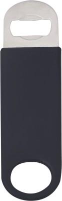 Mosaic 1BRW-BTO-CVNL-BLK Vinyl Coated Black Bottle Opener