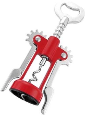 ENERZY 1014 Stainless Steel Wine Red Bottle Opener