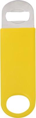 Mosaic 1BRW-BTO-CVNL-YLW Vinyl Coated Yellow Bottle Opener