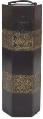 Artlivo Merlot Hex Wine Box Wooden Bottle Rack Cellar