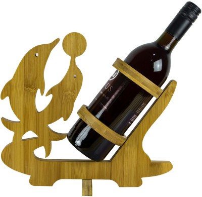 ANNI CREATIONS Wooden Wine Rack