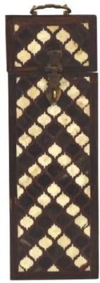 Artlivo Persian Inlay Wine Box Wooden Bottle Rack Cellar