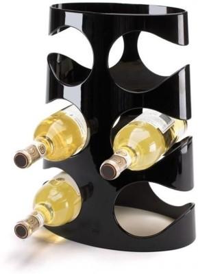 Umbra Kitchen Grapevine Wine Holder Rack Black Plastic Bottle Rack Cellar