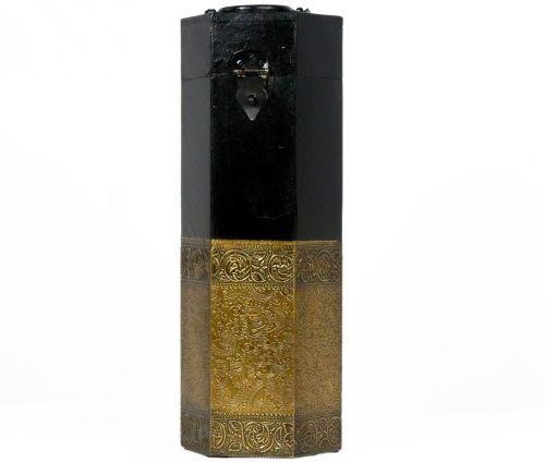 Artlivo Uber Elegant Hexagonal Wine Box Wooden Bottle Rack Cellar