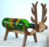 Kreatish Wooden Wine Rack (Brown, 1 Bott...