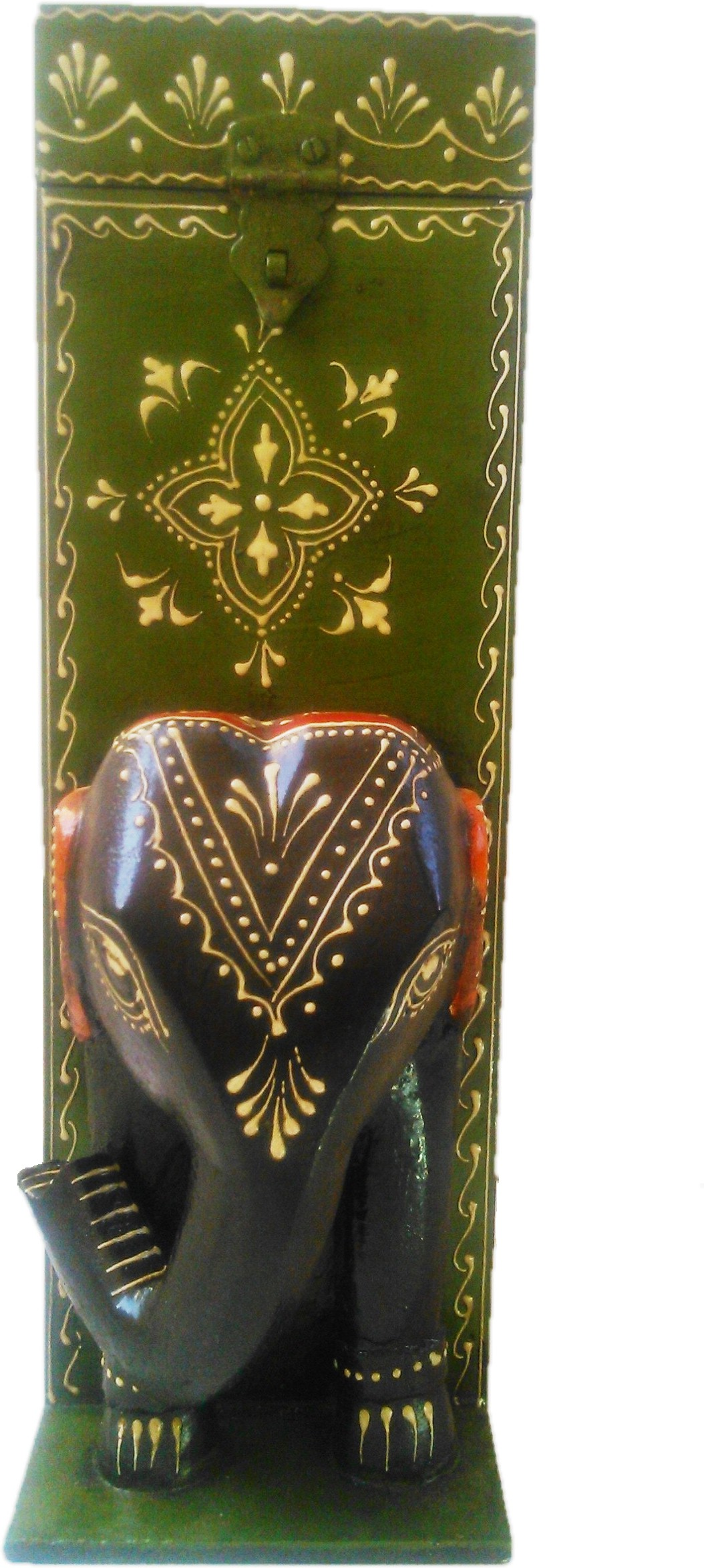Marwar Craft Wooden Bottle Rack Cabinet