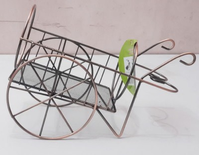 Zain Iron Wine Rack