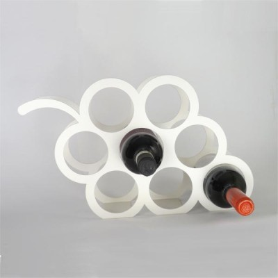 Indian Decor Steel Wine Rack