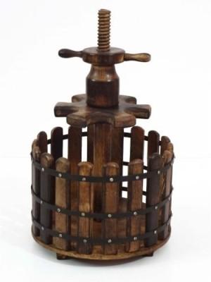 Artlivo Honey 6 Wine Wooden Bottle Rack Cellar