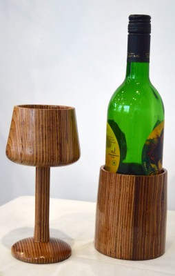 Kreatish Wooden Wine Rack