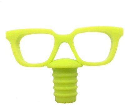 MK Glasses Silicone Bottle Stopper(Green)