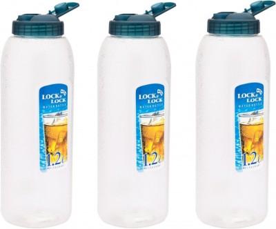 Lock&Lock Blue Lid, Set of 3 1.2 L Bottle
