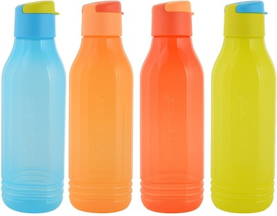 Tupperware Aquasafe Fliptop Triangular Groovy 750 ml Bottle