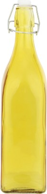 infenite Aggarwal Crockery & Scientific Stores Yellow Square 1000 ml Bottle