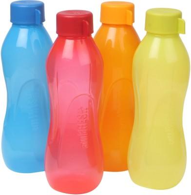 Ratan Plastics All Fresh Multicolour Combo PP 1000 ml Bottle