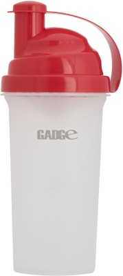 Gadge Shaker 700 ml Sipper(Pack of 1, Red)