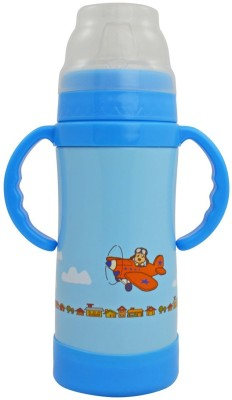 Eco Vessel Insulated Sippy - 10 oz - Blue w/ Dog on Plane 295 ml Bottle