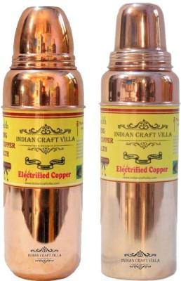 Indian Craft Villa ICV-C7-189 1400 ml Bottle(Pack of 2, Brown) at flipkart