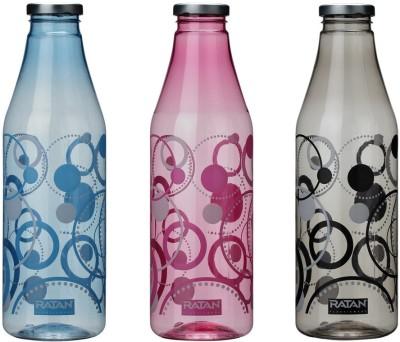 Ratan Plastics Pluto Set of 3 3000 ml Bottle