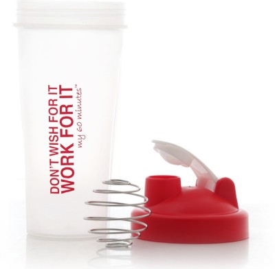 My 60 Minutes Gym Shaker 600 ml Bottle
