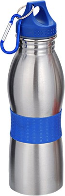 DIZIONARIO Curved 600ml Water Bottle Sippier Flask Blue 600 Bottle