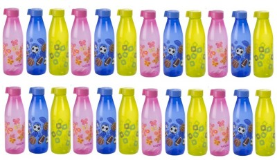 Nayasa Multicolour Melon Fridge Bottles (Pack of 24 Bottles) 1000 ml Bottle