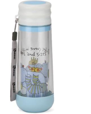 Chrome Glass Hybrid Double Wall 400 ml Bottle
