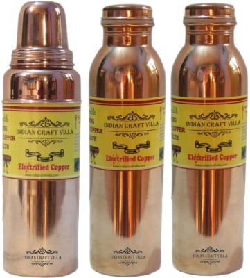Indian Craft Villa ICV-C7-242 1400 ml Bottle(Pack of 3, Brown) at flipkart