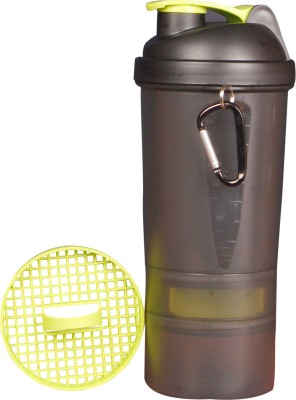 eworld Matrix 2 Storage Shaker Green 500 ml Sipper(Pack of 1, Green)