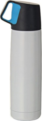 ShadowFax White Body Stainless Steel Water Bottle Sipper Flask 500 Sipper