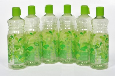 Harsh Pet Aqua Water Bottle 1000 ml Bottle(Pack of 6, Green)