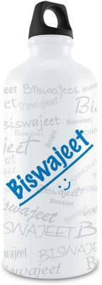 Hot Muggs Me Graffiti - Biswajeet Stainless Steel Bottle, 750 ml 750 ml Bottle