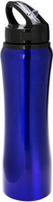 ANNI CREATIONS Prime Stainless Steel 1000 ml Bottle(Pack of 1, Blue)