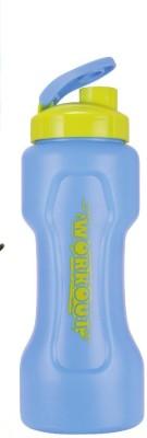 HealthBandhu Dumbbell Blue 720 ml Sipper