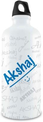 Hot Muggs Me Graffiti - Akshaj Stainless Steel Bottle, 750 ml 750 ml Bottle