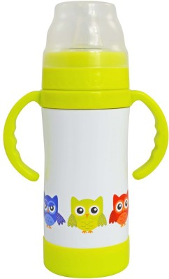 Eco Vessel Insulated Sippy - 10 oz - White w/ Owls 295 ml Bottle