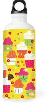 Nutcase Sticker Wrap Design - Cupcakes 800 ml Bottle