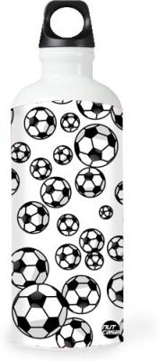 Nutcase Sticker Wrap Design - Footballs All Over 800 ml Bottle